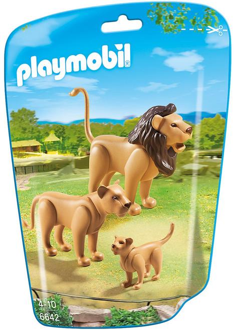 Playmobil Lion Family Set #6642