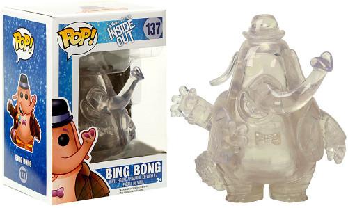 Funko Disney / Pixar Inside Out POP! Disney Bing Bong Exclusive Vinyl Figure #137 [Clear, Damaged Package]