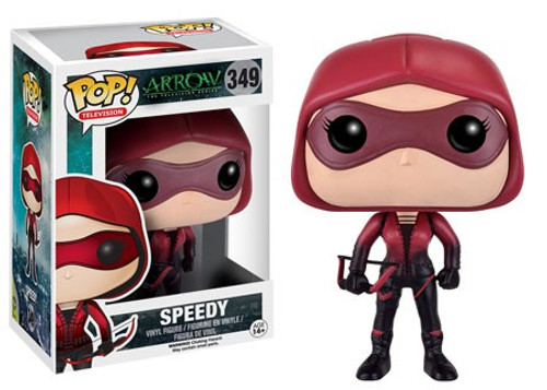 Funko DC Arrow POP! Heroes Speedy Vinyl Figure #349 [Damaged Package]