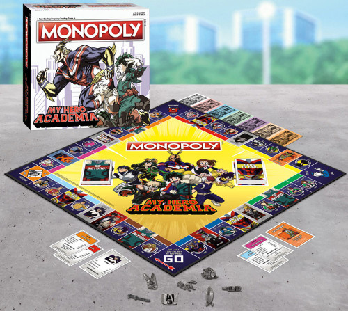 Monopoly My Hero Academia Exclusive [Exclusive]