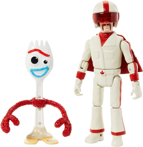 Toy Story 4 Duke Caboom & Forky Action Figure 2-Pack