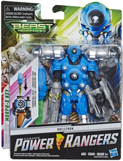 power rangers beast morphers silver ranger 6 basic action figure hasbro toywiz hasbro