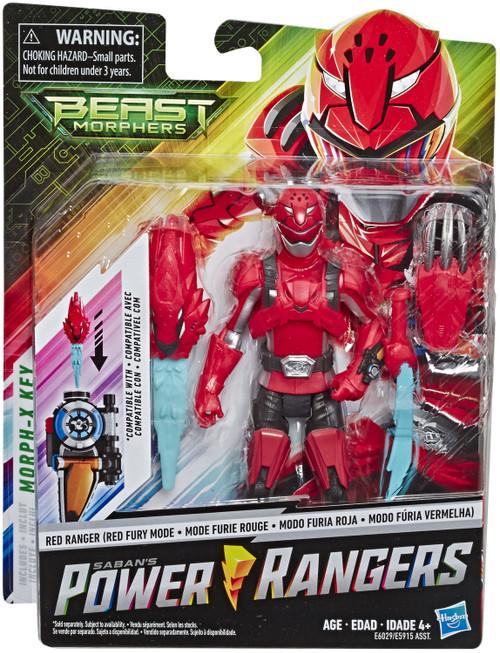 Power Rangers Beast Morphers Red Ranger Action Figure [Red Fury Mode]
