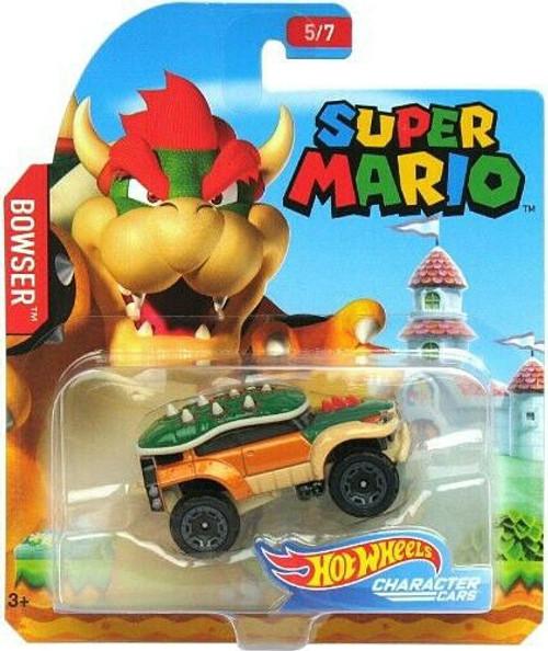 Hot Wheels Super Mario Bowser Diecast Car [5/7]