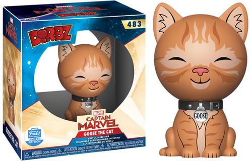 Funko Captain Marvel Dorbz Goose the Cat Exclusive Vinyl Figure #483