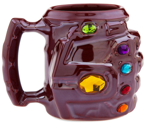 Disney Marvel Avengers Endgame Nano Gauntlet Exclusive Ceramic Mug