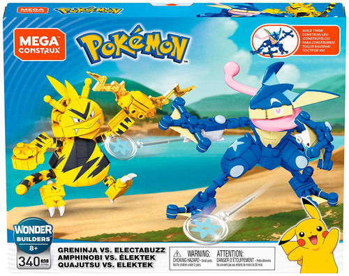 Pokemon Greninja Vs. Electabuzz Set