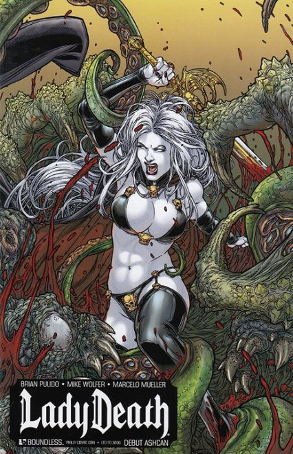Boundless Lady Death #1 Debut Ashcan Limited to 5000 Comic Book [Philadelphia Comic Con Exclusive Cover]