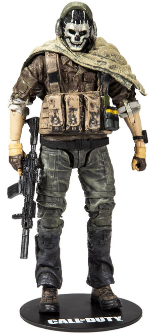 McFarlane Toys Call of Duty Modern Warfare Ghost Action Figure (Pre-Order ships November)