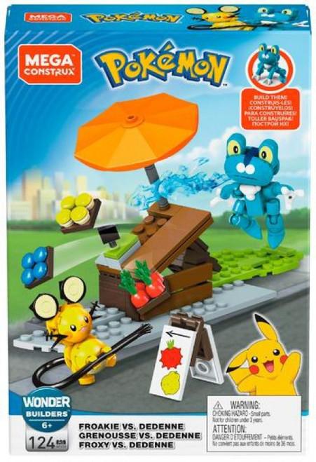 Pokemon Froakie vs. Dedenne Set