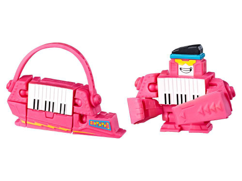 Transformers BotBots Series 2 Pink Key Pop Mystery Minifigure [Music Mob Loose]