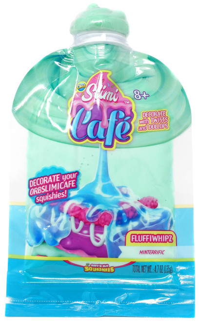 Soft'N Slow Squishies Slimi Cafe Fluffiwhipz Minterrific Squeeze Toy Accessory