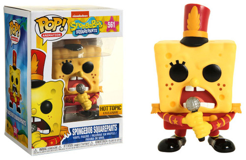 Funko POP! TV Spongebob Squarepants Exclusive Vinyl Figure #561 [Band Outfit]