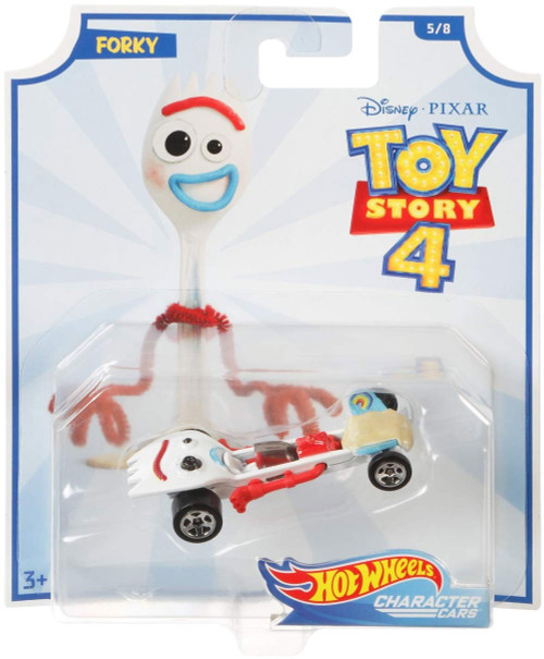 Toy Story 4 Hot Wheels Forky Diecast Car #5/8