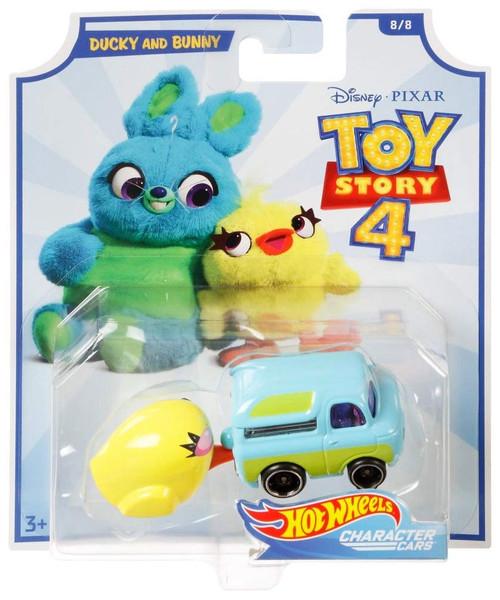 Toy Story 4 Hot Wheels Ducky & Bunny Diecast Car #8/8