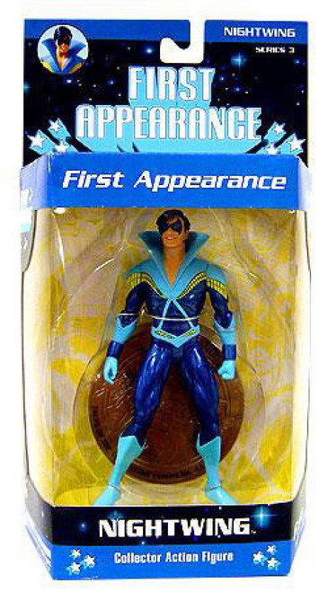 DC First Appearance Series 3 Nightwing Action Figure