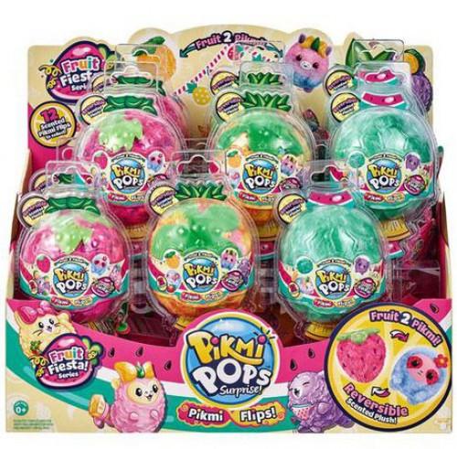 Pikmi Pops Surprise! Series 5 Flips! Fruit Fiesta Mystery Box [12 Packs]