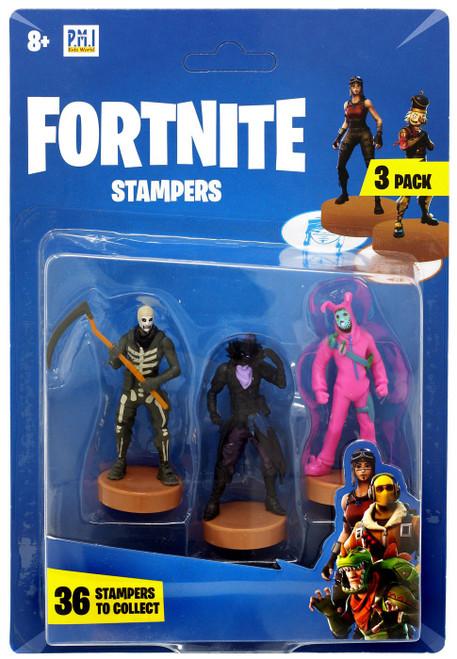 Fortnite Sulltrooper, Raven & Rabbit Raider Stamper 3-Pack