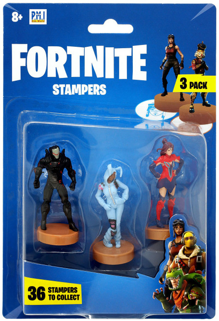 Fortnite Series 1 Omega, Bunny Brawler & Valor Stamper 3-Pack