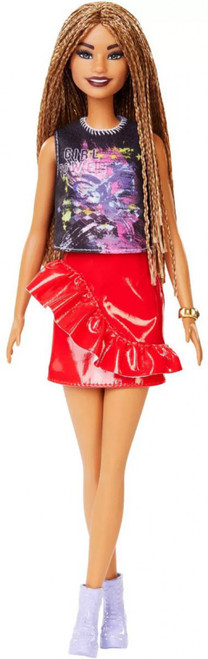 Fashionistas Barbie 13.25-Inch Doll #123 [Braids]