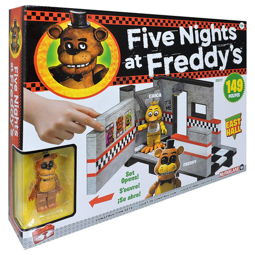 McFarlane Toys Five Nights at Freddy's East Hall Construction Set