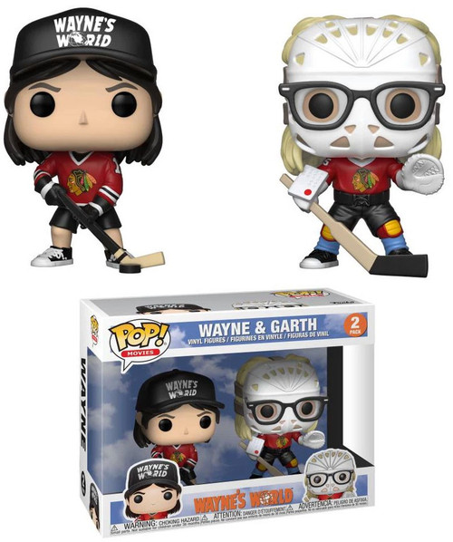 Funko Wayne's World POP! Movies Wayne & Garth Exclusive Vinyl Figure [Damaged Package]
