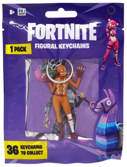 Fortnite Figural Keychains Series 1 Ginger Gunner Keychain