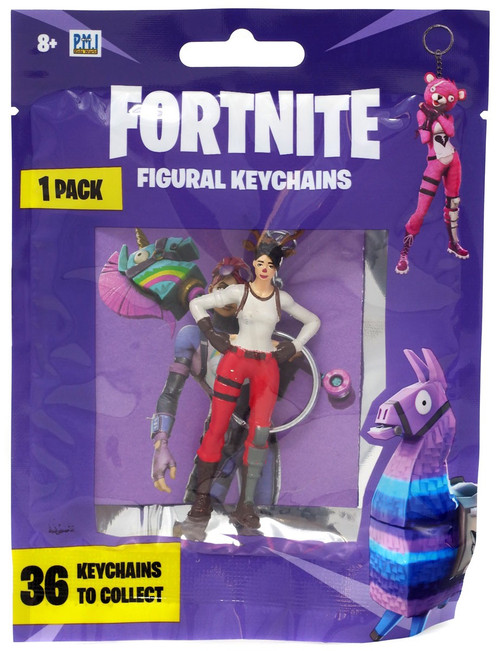 Fortnite Figural Keychains Red Nosed Raider Keychain