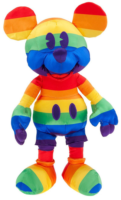 Disney Rainbow Collection Mickey Mouse Exclusive 15.5-Inch Plush [2019]