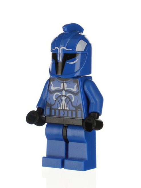 LEGO Star Wars The Clone Wars Senate Commando Captain Minifigure [Solid Blue Legs Loose]