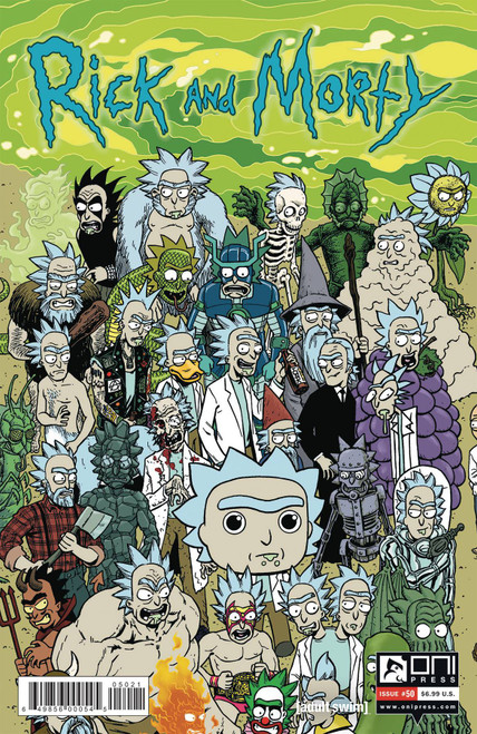 Oni Press Rick & Morty #50 Comic Book [Cover B]