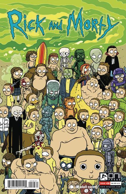 Oni Press Rick & Morty #50 Comic Book [Cover C]