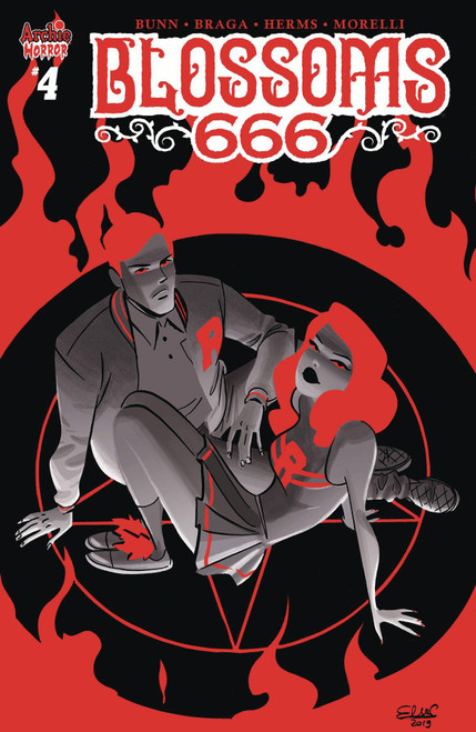 Archie Comic Publications Blossoms 666 #4 Comic Book [Cover B]