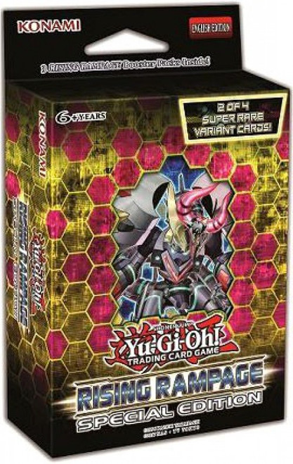 YuGiOh Trading Card Game Rising Rampage Special Edition [3 Booster Packs & Promo Card!]