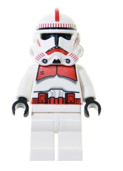 LEGO Star Wars Episode 3 Clone Shock Trooper Minifigure [White Hips Loose]