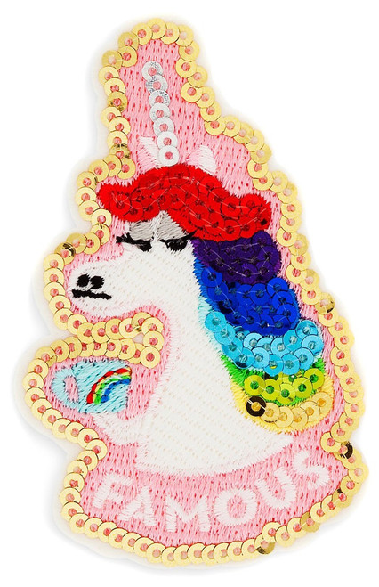Disney / Pixar Inside Out Patched Rainbow Unicorn Exclusive Patch