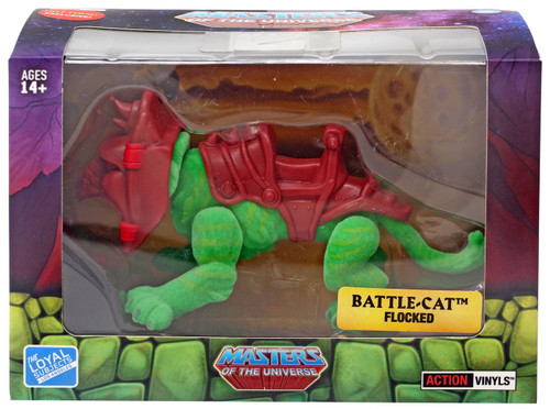 Masters of the Universe Battle Cat Exclusive Figure [Flocked]