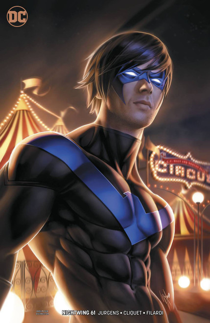 DC Nightwing #61 Comic Book [Warren Louw Variant Cover]