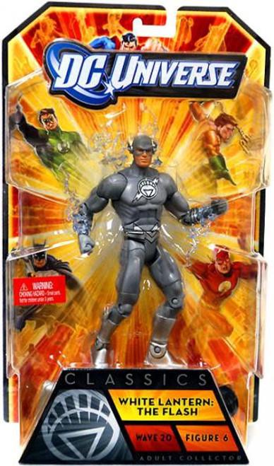 DC Universe Classics Wave 20 White Lantern The Flash Action Figure #6 [Damaged Package]