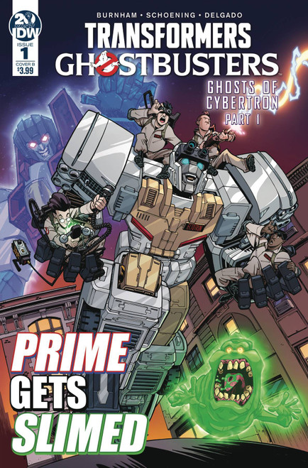 IDW Transformers & Ghostbusters #1 Comic Book [Nick Roche Cover B Variant]