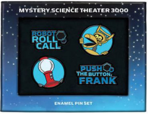 Mystery Science Theater 3000 Tom & Crow 1.65-Inch Enamel Pin Set