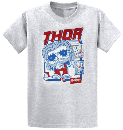 Funko Avengers Endgame Marvel Collector Corps Thor Exclusive T-Shirt [Large]