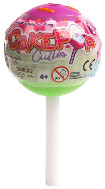 Cakepop Cuties JUMBO Pops Mystery Pack [2x Cuties & 3 Accessories]