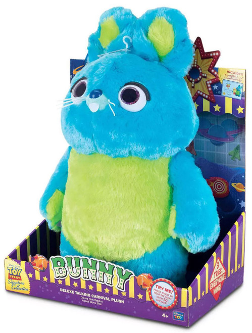 Toy Story 4 Signature Collection Bunny Exclusive 15-Inch Plush with Sound