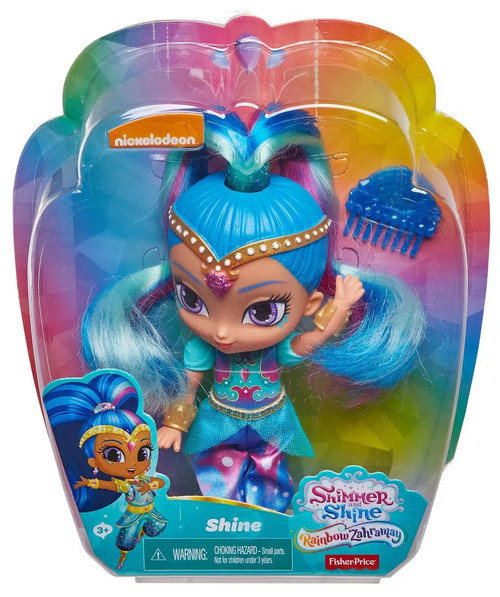 Fisher Price Shimmer & Shine Rainbow Zahramay Shine 6-Inch Basic Doll