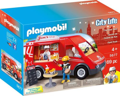 Playmobil City Life City Food Truck Set #5677