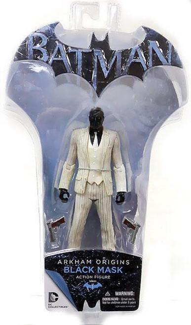Batman Arkham Origins Series 1 Black Mask Action Figure