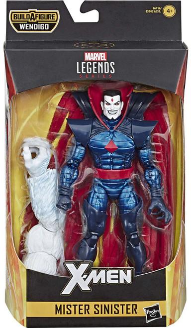 X-Force Marvel Legends Wendigo Series Mister Sinister Action Figure