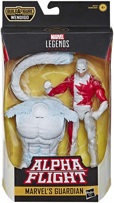 X-Force Marvel Legends Wendigo Series Guardian Action Figure