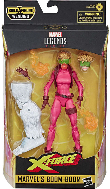 X-Force Marvel Legends Wendigo Series Boom Boom Action Figure [90's Custome]